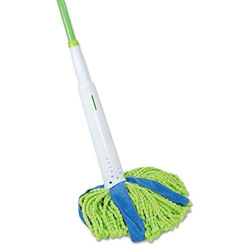 quickie-59094m-lysol-cono-mop-supremo-8-pulgadas-de-ancho-31-cm-075-mango-acero-verde-y-azul-cada