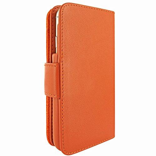 Piel Frama 678SWN PIELFRAMA 678SWN Swaro Wallet Case für Apple iPhone 6 in orange Mehrfarben, Orange