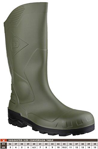 Dunlop Gummistiefel Kniehoch S5, Stivali di Gomma Donna Verde