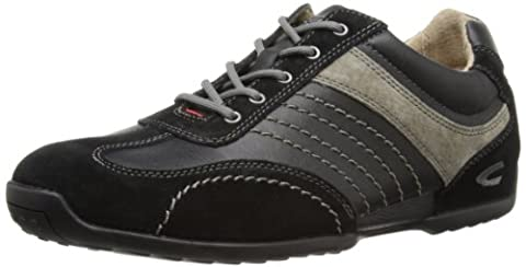 camel active Space 12, Herren Sneakers, Schwarz (black/grey), 42 EU (8 Herren UK)