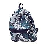 HCFKJ Schultasche, Frauen Mädchen Jungen Camouflage Zipper Rucksack Schultaschen Mode Umhängetasche (GY)