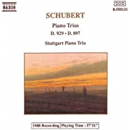 Schubert: Piano Trios In E Flat Major, D. 929 And D. 897