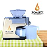 Savaliya Oil Maker Machine SI-801 & Cold Press Oil Machine (Brown)