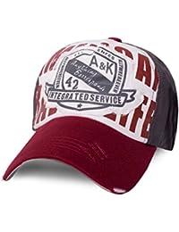 ManoaShark® A&K Trucker Mesh Baseball Cap Surfer Vintage Style - in 3 Farben erhältlich!