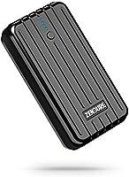 Zendure A2 kompakte Powerbank 6700mAh Externer Akku Portable Charger 2.4A Ausgang für iPhone,iPad,Samsung Galaxy und mehr Smartphones (Schwarz)