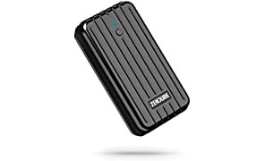 Zendure A2 Power Bank 6700mAh – Ultra-durable Portable External Battery Charger for iPhone, Android and More, PC Advisor Winner 2014-2017, Lightweight and Compact– Black