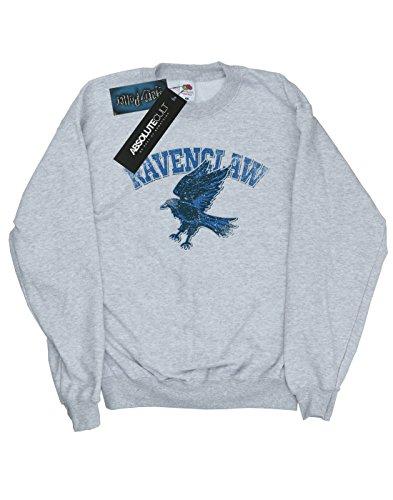 Harry Potter Femme Ravenclaw Sport Emblem Sweat-Shirt Heather Gris