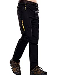 Zhuhaitf Impermeable Mens Lightweight Waterproof Durable Quick-dry Sports Shorts Convertible Trousers