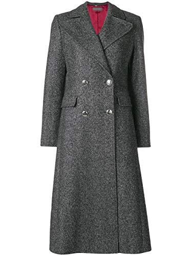 Alberta Ferretti Luxury Fashion Damen A060166501516 Grau Mantel | Jahreszeit Outlet 9