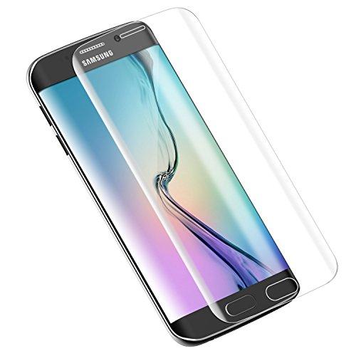 Dokpav® Samsung Galaxy S6 Edge 3D Handy Displayschutzfolie für smartphone Schutzfolie Folie - Transparent