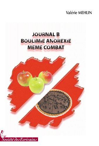 JOURNAL B BOULIMIE ANOREXIE, MEME COMBAT