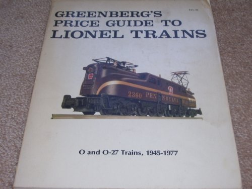 Price Guide to Lionel Trains