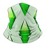 Die Sims Plumbob Nackenschutz, Kopfbedeckung, Gesichts-Sonnenmaske, Zauberschal, Kopftuch, Sturmhaube, Stirnband zum Angeln, Motorradfahren, Ru