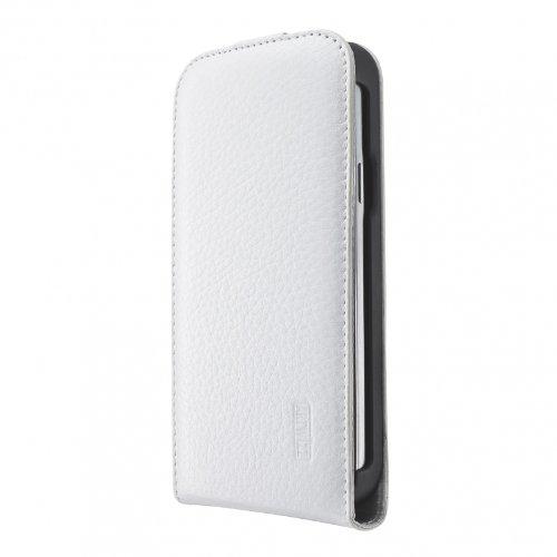 Artwizz 1417-SJLF+S4MW SeeJacket Leather Flip Plus für Samsung Galaxy S4 Mini (weiß)