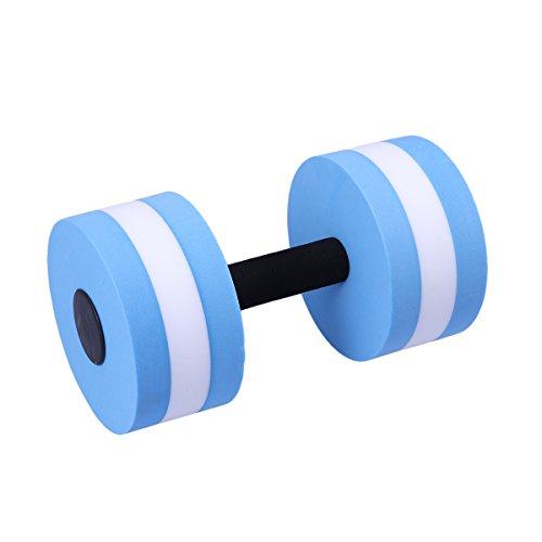 winomo Wasser Hantel Aqua Gewicht (blau weiß)