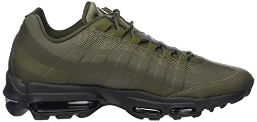 finest selection 9a5c9 8e6e2 ... Nike Air Max 95 Ultra Essential, Baskets Homme Vert (cargo Kaki   Noir