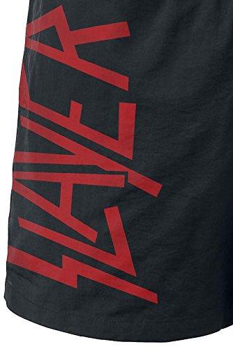 Slayer Black Eagle Costume da bagno nero Nero