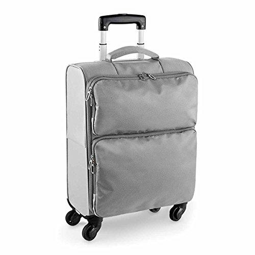 Bag-base - valise cabine trolley roulettes - BG470 (Gris platinium)