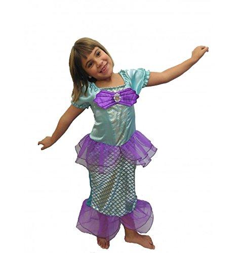 Imagen de ariel la sirenita disfraz inspirado 1 a 9 años  140 7 a 9 años  alternativa