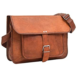 41aTVyLGGTL. SS324  - Gusti Maletín Cuero - Ollie Cartera portafolios Bandolera marrón