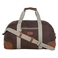 BagsRus Polyester Duffle Bag For Unisex,Brown - Travel Duffle Bags