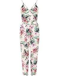 New Ladies Girls Celeb Inspired Strappy Cami Long Women Jumpsuit Catsuit 8-14
