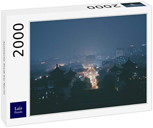 Lais Puzzle Asiatische Stadt bei Nacht 2000 Teile