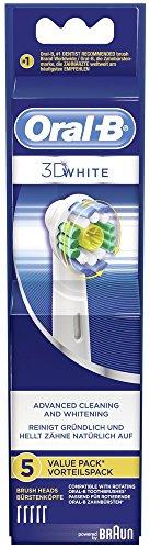 Oral-B 3D White Aufsteckbürsten, 5er Pack