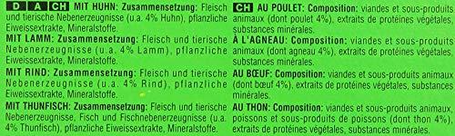 Kitekat Katzenfutter Nassfutter Adult für erwachsene Katzen Markt Mix in Gelee, 48 Portionsbeutel (2 x 24 x 100g) - 3