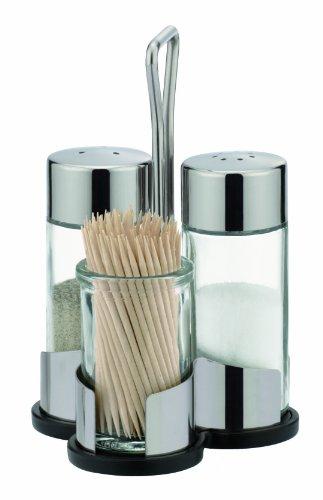 Tescoma Club Salz- und Pfefferstreuer mit Zahnstocherhalter