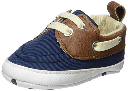 ZIPPY Zapatos Náuticos Para Recién Nacido Mocassins (Loafer) bébé garçon, Bleu (Dress Blue 19/4024 TC 185) 15 EU