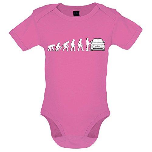 evolution-de-lhomme-fiat-500-marrant-bebe-body-rose-clair-3-a-6-mois