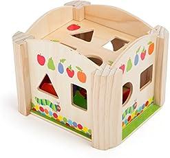 Kids Preferred 10462 - Raupe Nimmersatt Steckwürfel