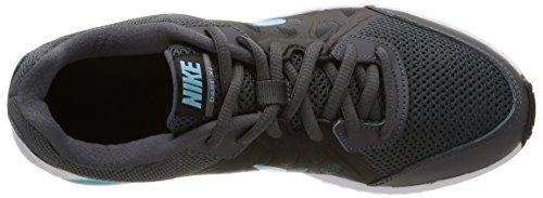 Nike Wmns Dart 11 Scarpe da ginnastica, Donna Dark Grey/Td Pl Blue-Blck-Wht