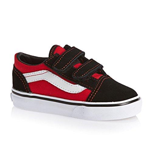 VANS Kinderschuhe - Old Skool V POP black high risk red black / high risk red