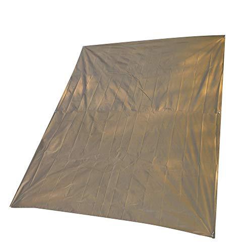 Outdoor-Produkte Decke Matte Übergröße große faltbare Picknick-Matte Teppich Camping Decke wasserdicht Bodendecker 300 x 300 cm , erschwinglich ( Farbe : Gelb , Größe : 300 x 300 cm )
