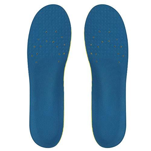 In Voller Länge-unterstützung (Cafopgrill Transparente Einlegesohle aus Memory Foam in voller Länge bietet gepolsterte Unterstützung für das Fußgewölbe und verwendet EIN Gel-Pad unter der Ferse und dem Vorfuß (blau)(S))