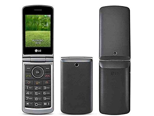LG Flip Phone Alter Unlocked GSM entriegelte International Modell, kein 2G G360 Dual-SIM-Duo MP3-Kamera Big Button E-Mail LCD 3.0