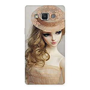 Gorgeous Royal Doll Multicolor Back Case Cover for Samsung Galaxy A5