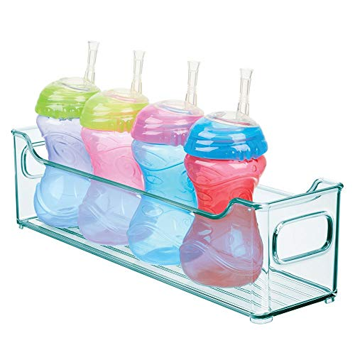 MDesign Caja organizadora para cuarto de bebé - Contenedor plástico grande con prácticas asas - Caja...