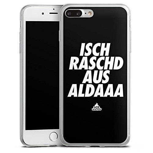 Apple iPhone 8 Slim Case Silikon Hülle Schutzhülle mir geschiss Spruch Ausrasten Silikon Slim Case transparent