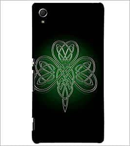 PrintDhaba ButterFly D-1980 Back Case Cover for SONY XPERIA Z4 (Multi-Coloured)