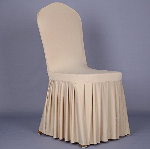 Una vita migliore* 4x fodere copripoltrona, stretch spandex elastico moderno elasticizzato banda copertura della sedia per matrimonio,hotel, sala da pranzo misura universale forma