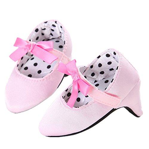 leinkind Mädchen Neugeboren Lauflernschuhe Niedlich Weich Sohle Krippe Schuhe für Kinder Baby 0-8 Monate (Niedliche Neugeborenen)