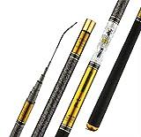 FEIF Canna da Pesca La Canna da Pesca Telescopica È Una Canna da Fonderia in Fibra di Carbonio 3.6M-10M Pesca La Canna da Pesca Ultra Leggera Leggera5,4 M