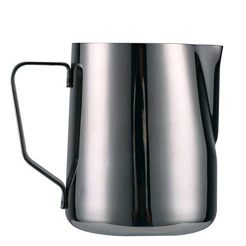 Milchkännchen Milchschaumkännchen Barista Milchkännchen Coffee Cappuccino Milk Tea Latte cup Becher Aufschäumer Milchkanne Edelstahl mit langer Schnaupe 300ml/500ml