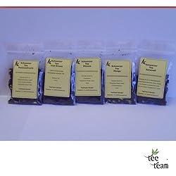 TeeTeam Schwarzer Tee - Tee Probierset Aroma Schwarztee, Probieren, 50 g