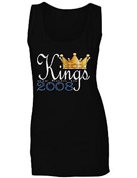 Rey nace en 2008 camiseta sin mangas mujer b944ft