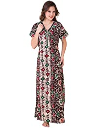 cda1b66b0e9 Amazon.in  Cotton - Nighties   Nightdresses   Sleep   Lounge Wear ...