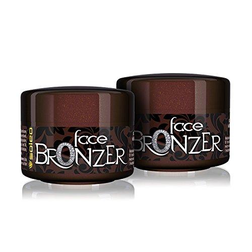 Soleo Satisfaction Face Bronzer, 2er Pack (2 x 15 ml) -